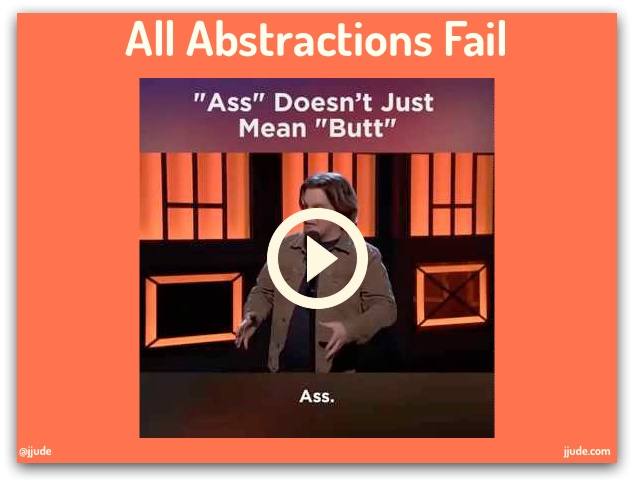 All Abstractions Fail