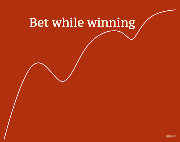 Bet While Winning