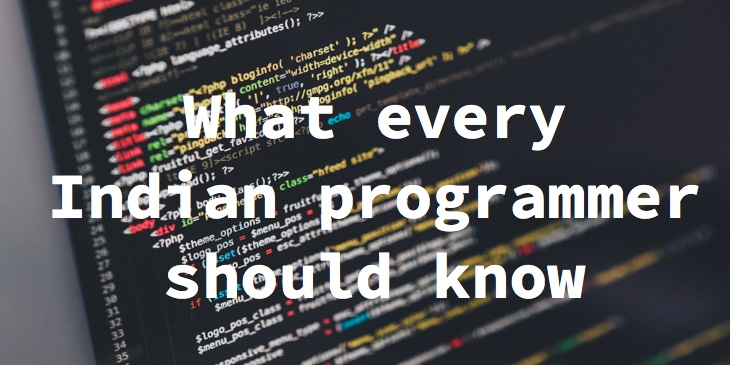 Skills for Indian Programmers