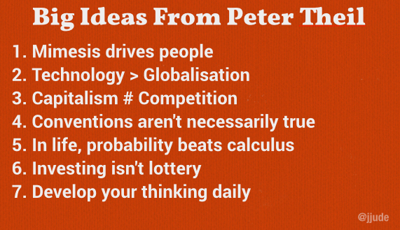 Big Ideas From Peter Theil