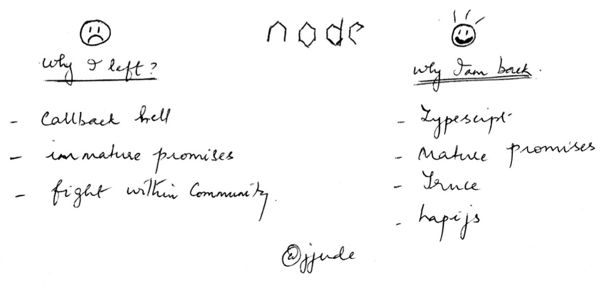 Why back to nodejs