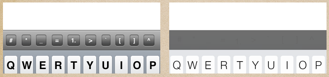 iOS7 Keyboard tint color