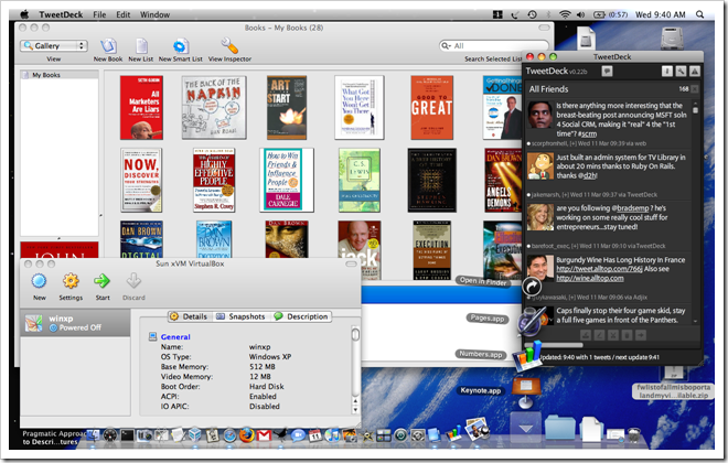 MacOS Applications Screenshot