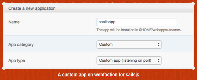 Custom App For Sailsjs