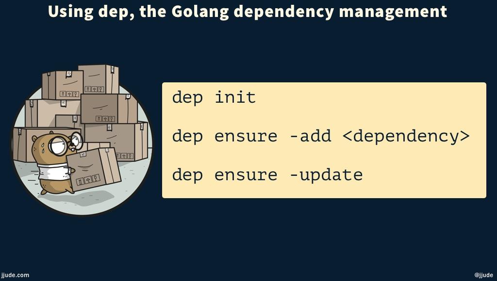 golang dep tool